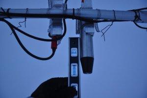 Leveling radiometer